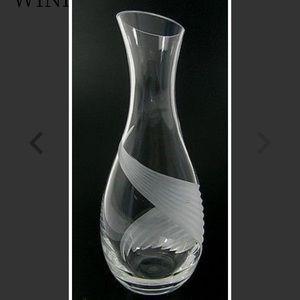 Lenox Crystal Windswept Wine Carafe
